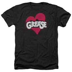 Grease - Mens Heart Heather T-Shirt