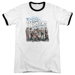 Warriors - Mens Amusement Ringer T-Shirt