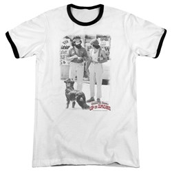 Cheech & Chong - Mens Square Ringer T-Shirt