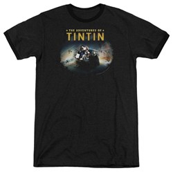 Tintin - Mens Journey Ringer T-Shirt