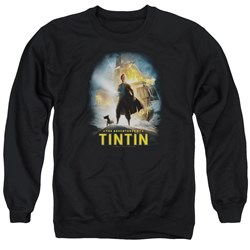 Tintin - Mens Poster Sweater