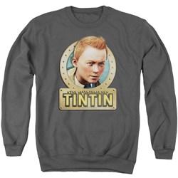 Tintin - Mens Metal Sweater