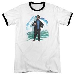 Tintin - Mens Haddock Ringer T-Shirt