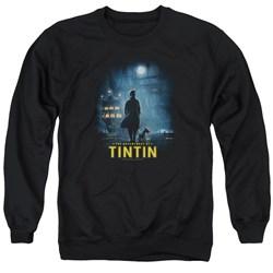 Tintin - Mens Title Poster Sweater