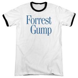 Forrest Gump - Mens Logo Ringer T-Shirt