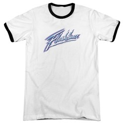 Flashdance - Mens Logo Ringer T-Shirt