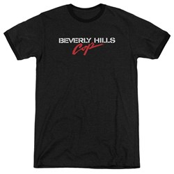 Beverly Hills Cop - Mens Logo Ringer T-Shirt