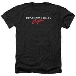 Beverly Hills Cop - Mens Logo Heather T-Shirt