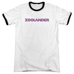 Zoolander - Mens Logo Ringer T-Shirt