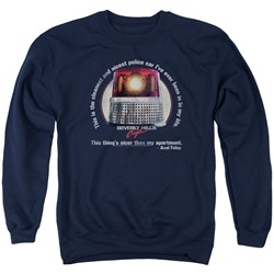 Beverly Hills Cop - Mens Nicest Police Car Sweater