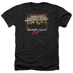 Beverly Hills Cop - Mens Banana In My Tailpipe Heather T-Shirt