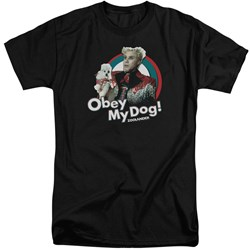 Zoolander - Mens Obey My Dog Tall T-Shirt