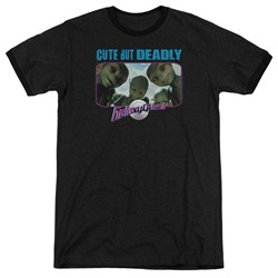 Galaxy Quest - Mens Cute But Deadly Ringer T-Shirt