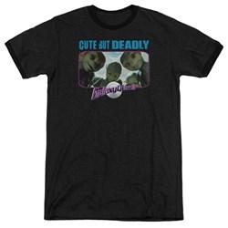 Galaxy Quest - Mens Cute But Deadly Ringer T-Shirt