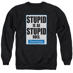 Forrest Gump - Mens Stupid Is Sweater