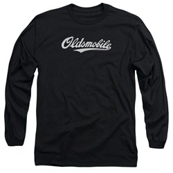 Oldsmobile - Mens Oldsmobile Cursive Logo Long Sleeve T-Shirt