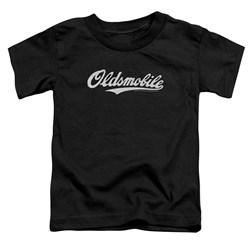 Oldsmobile - Toddlers Oldsmobile Cursive Logo T-Shirt