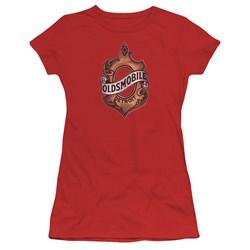Oldsmobile - Juniors Detroit Emblem T-Shirt