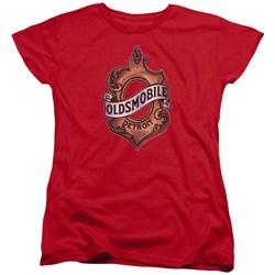 Oldsmobile - Womens Detroit Emblem T-Shirt