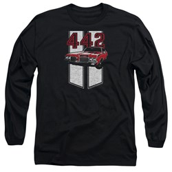 Oldsmobile - Mens 442 Long Sleeve T-Shirt