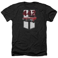 Oldsmobile - Mens 442 Heather T-Shirt