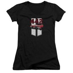 Oldsmobile - Juniors 442 V-Neck T-Shirt