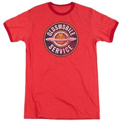Oldsmobile - Mens Vintage Service Ringer T-Shirt
