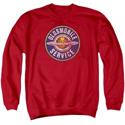 Oldsmobile - Mens Vintage Service Sweater