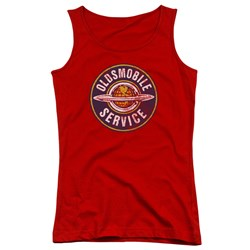 Oldsmobile - Juniors Vintage Service Tank Top
