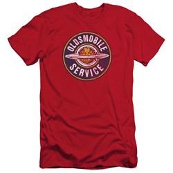 Oldsmobile - Mens Vintage Service Slim Fit T-Shirt