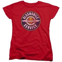 Oldsmobile - Womens Vintage Service T-Shirt