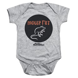 Parks and Recreation - Toddler Mouse Rat Circle Onesie