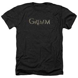 Grimm - Mens Logo Heather T-Shirt