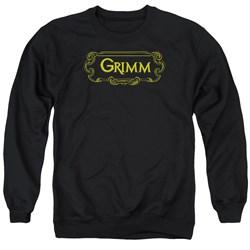 Grimm - Mens Plaque Logo Sweater