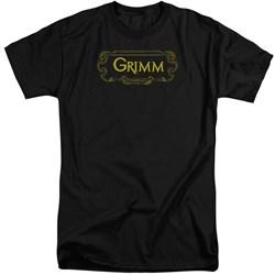 Grimm - Mens Plaque Logo Tall T-Shirt