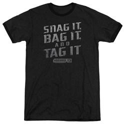 Warehouse 13 - Mens Snag It Ringer T-Shirt