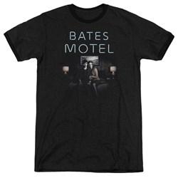 Bates Motel - Mens Motel Room Ringer T-Shirt
