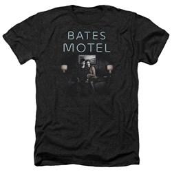 Bates Motel - Mens Motel Room Heather T-Shirt