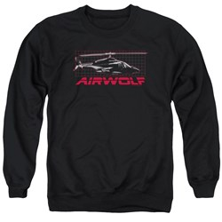 Airwolf - Mens Grid Sweater