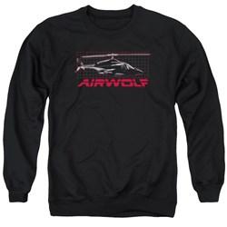 Airwolf - Mens Grid Sweater