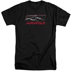 Airwolf - Mens Grid Tall T-Shirt