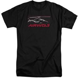 Airwolf - Mens Grid Tall T-Shirt