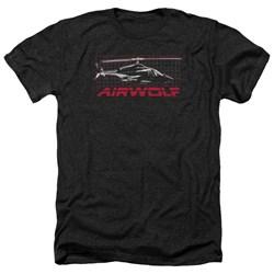 Airwolf - Mens Grid Heather T-Shirt