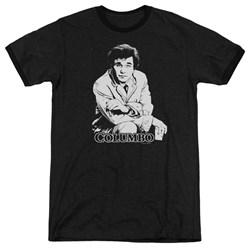Columbo - Mens Title Ringer T-Shirt