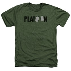 Platoon - Mens Logo Heather T-Shirt