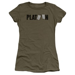 Platoon - Juniors Logo T-Shirt