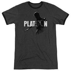 Platoon - Mens Shadow Of War Ringer T-Shirt