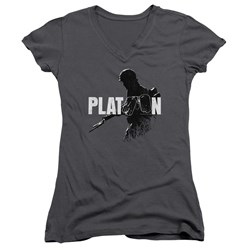 Platoon - Juniors Shadow Of War V-Neck T-Shirt