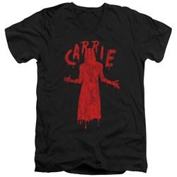 Carrie - Mens Silhouette V-Neck T-Shirt