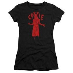 Carrie - Juniors Silhouette T-Shirt